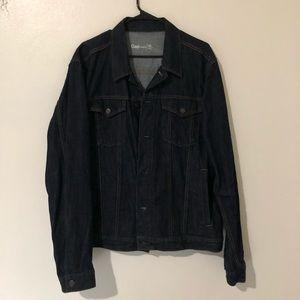 Men's GAP dark denim jean jacket